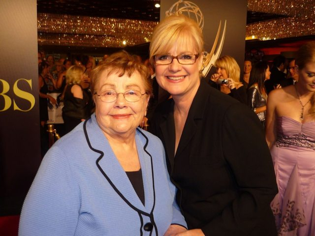 Bonnie Hunt and mom Alice Hunt