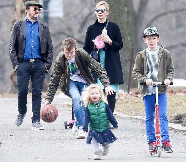 Cate Blanchett's Family