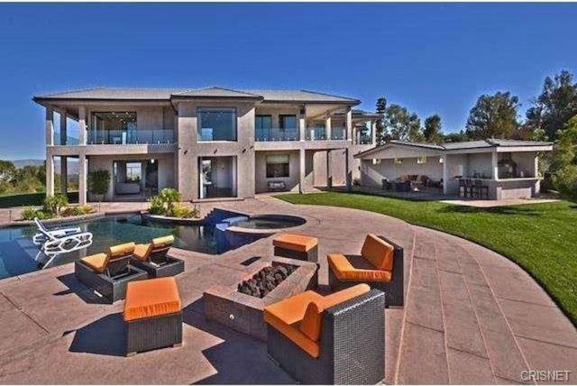 Chris Brown House