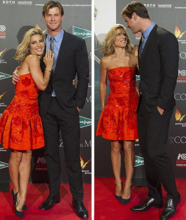 Chris Hemsworth and Wife