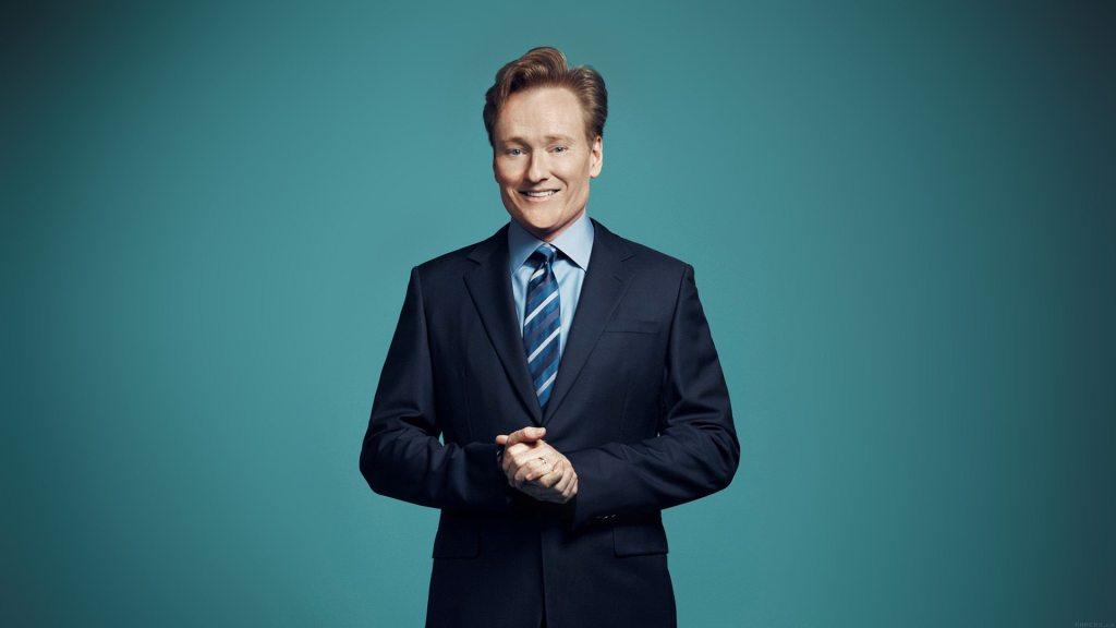Conan O'Brien's height 2