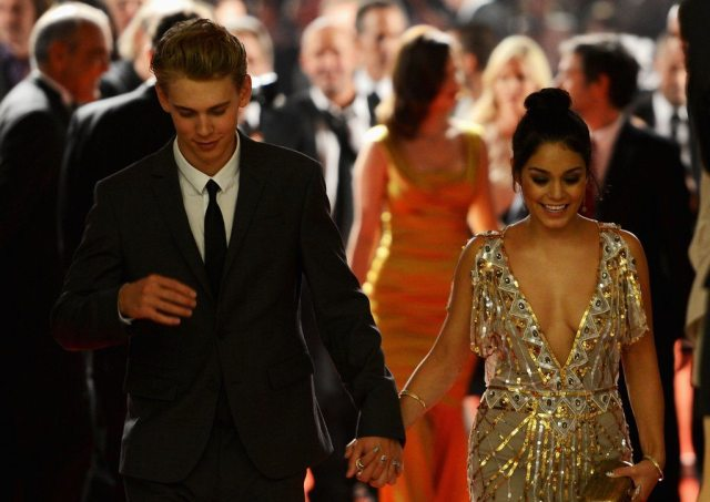 Vanessa Hudgens' height bf