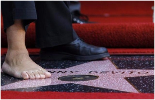 Danny Devito's height foot