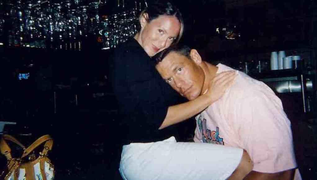 Elizabeth Huberdeau with her ex-husband John Cena