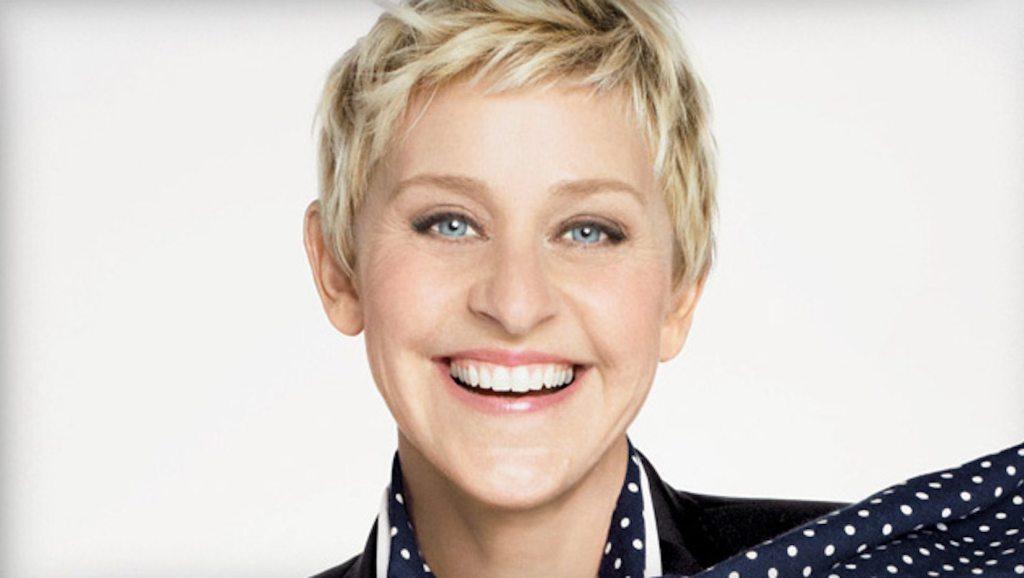 Ellen DeGeneres height 1