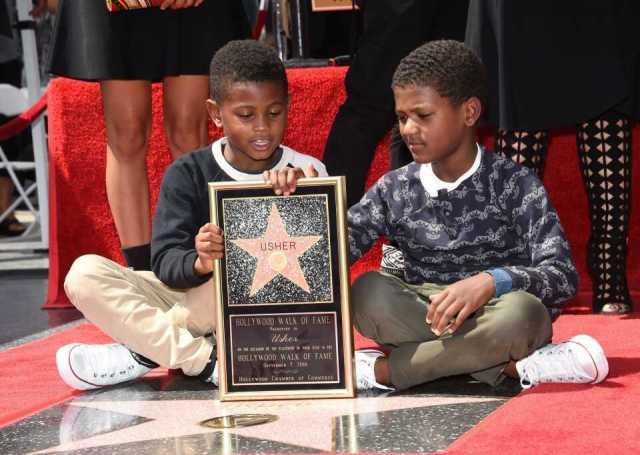 Usher's sons