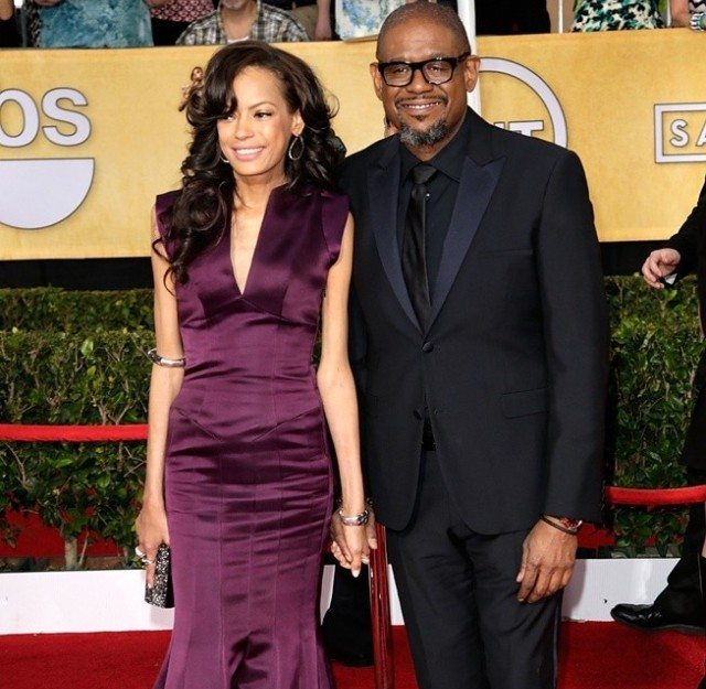 Forest Whitaker and Wife Keisha Nash
