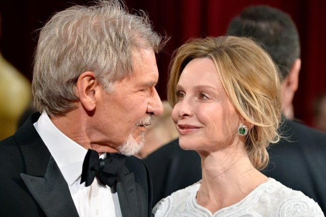 Harrison Ford and wife, Calista Flockhart