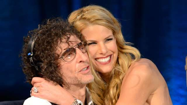 Howard Stern and Wife