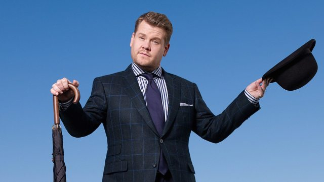 James Corden's height 1
