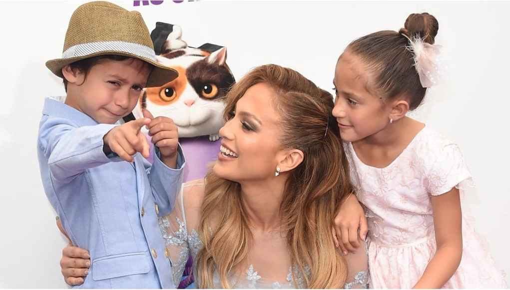 Jennifer Lopez kids dp