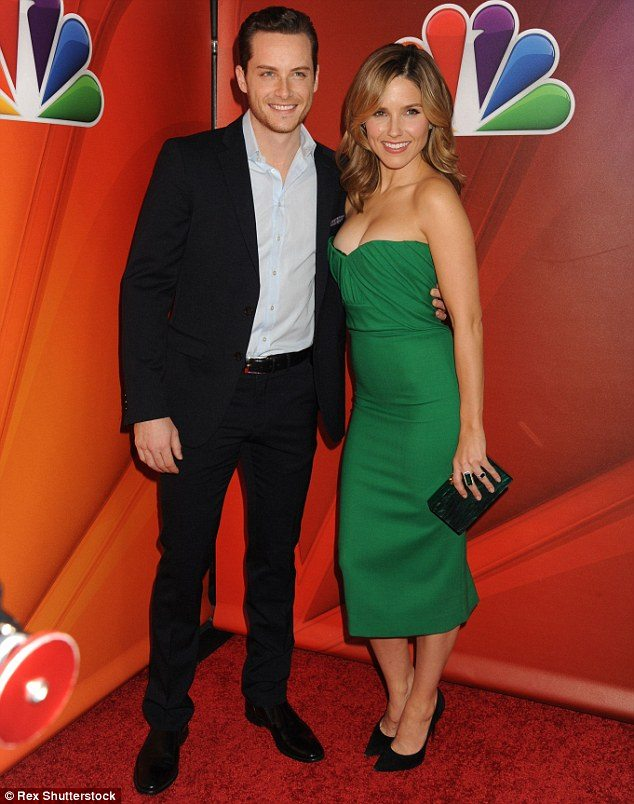 Jesse Lee Soffer and ex girlfriend Sophia Bush