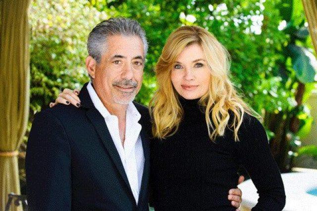 John Macaluso with Nadine Caridi