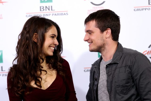 ROME, ITALY - OCTOBER 19: Claudia Traisac and Josh Hutcherson attend the 'Escobar: Paradise Lost' Photocall during the 9th Rome Film Festival on October 19, 2014 in Rome, Italy. (Photo by Vittorio Zunino Celotto/Getty Images)
