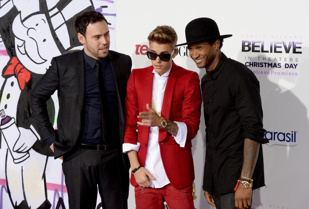 Usher's height 6