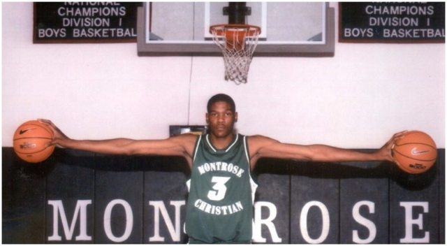 Kevin Durant's height 5