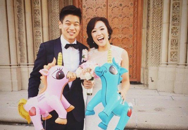 Ki Hong Lee and wife