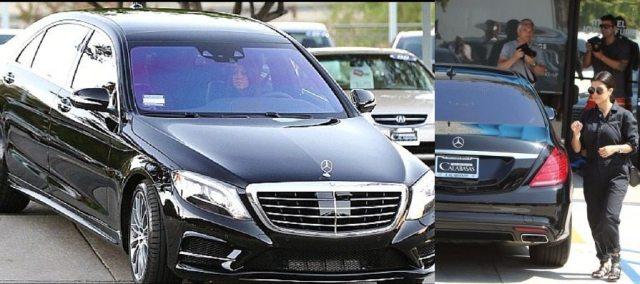 Kourtney Kardashian Car