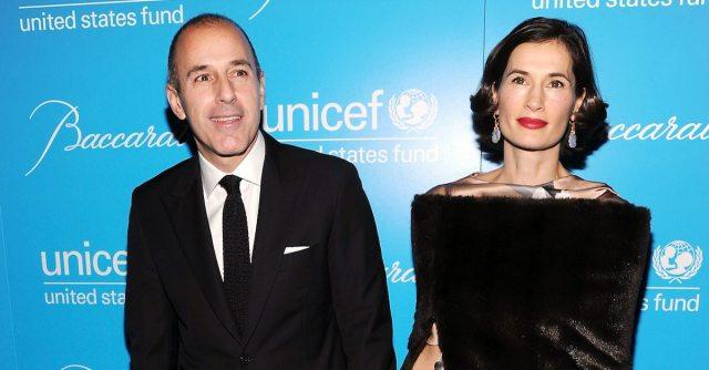 Matt Lauer and Wife