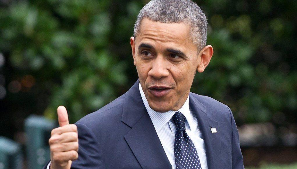 Barack Obama's height dp
