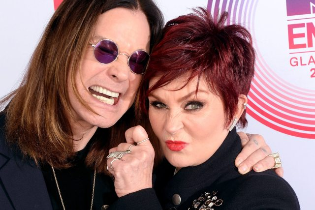 Ozzy Osbourne and Wife Sharon