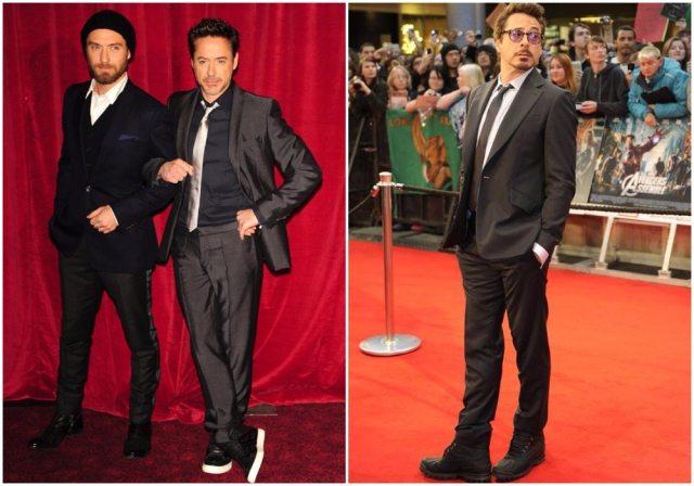 Robert Downey Jr.'s height 5