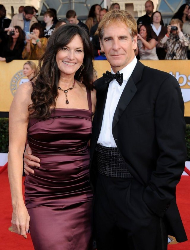 Chelsea Feild With Husband Scott Bakula