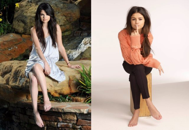 Selena Gomez Feet