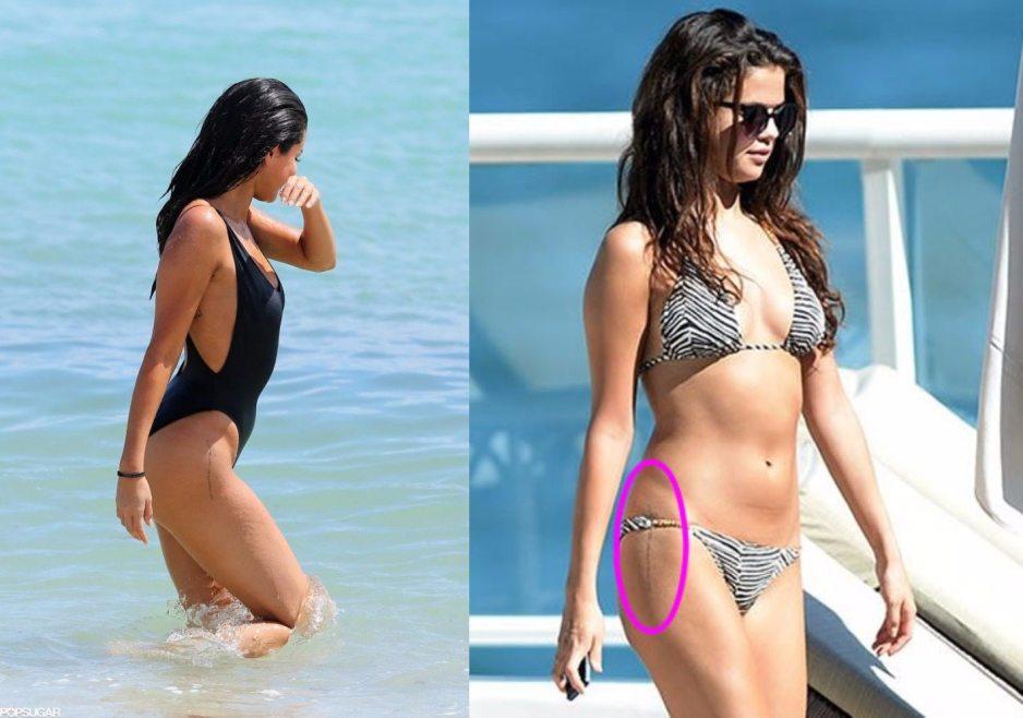 Selena Gomez God stregnthens me tattoo