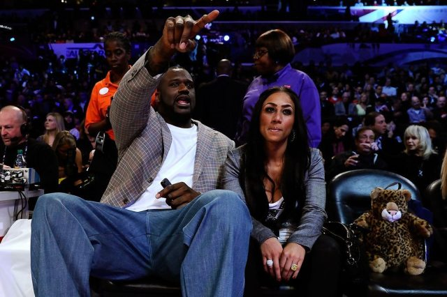 Shaquille O`Neal girlfriend