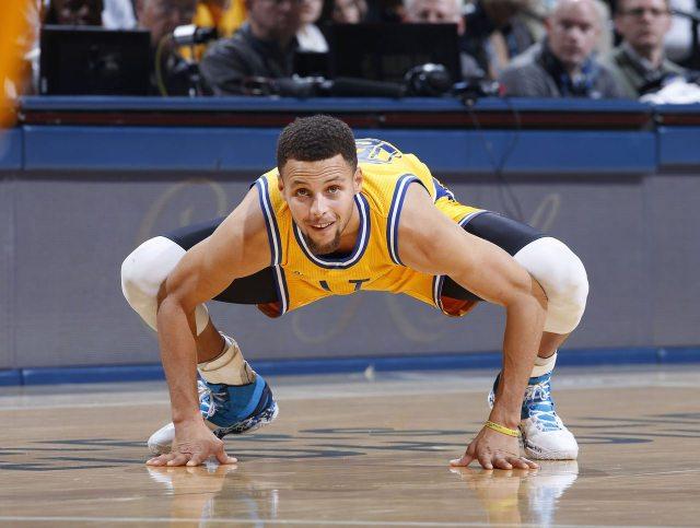 Steph Curry's height, feet