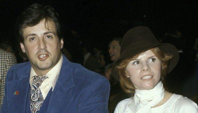 Sylvester Stallone and Sasha Czack