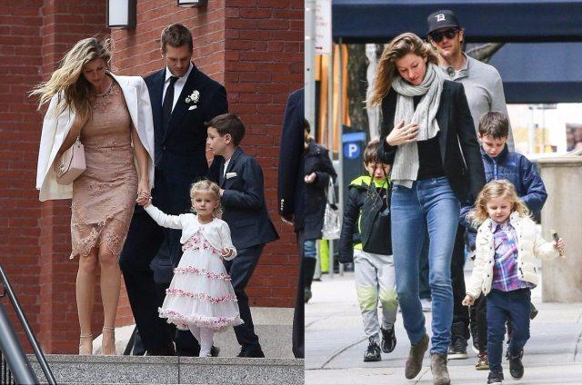 Tom Brady Kids Family