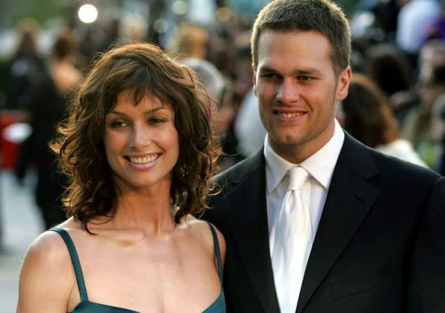 Tom Brady and ex-girlfriend Bridget Moynahan