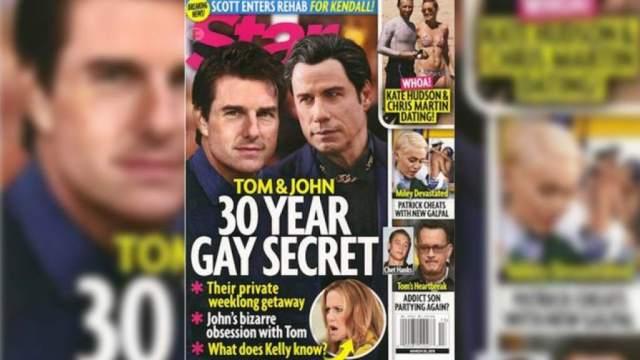Tom Cruise and John Travolta