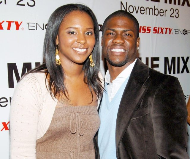 Torrei and Kevin Hart
