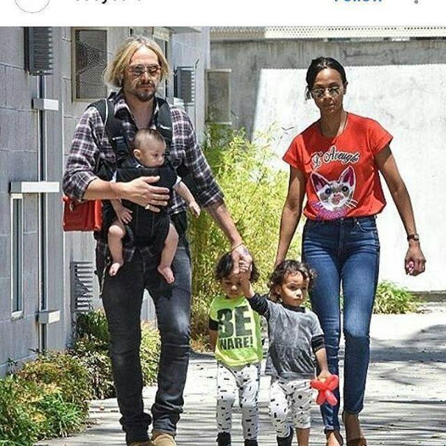 Zoe Saldana Family