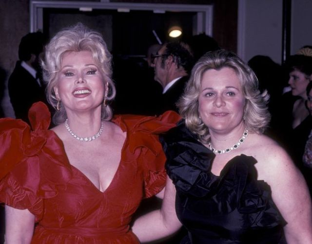 Zsa Zsa Gabor and Daughter