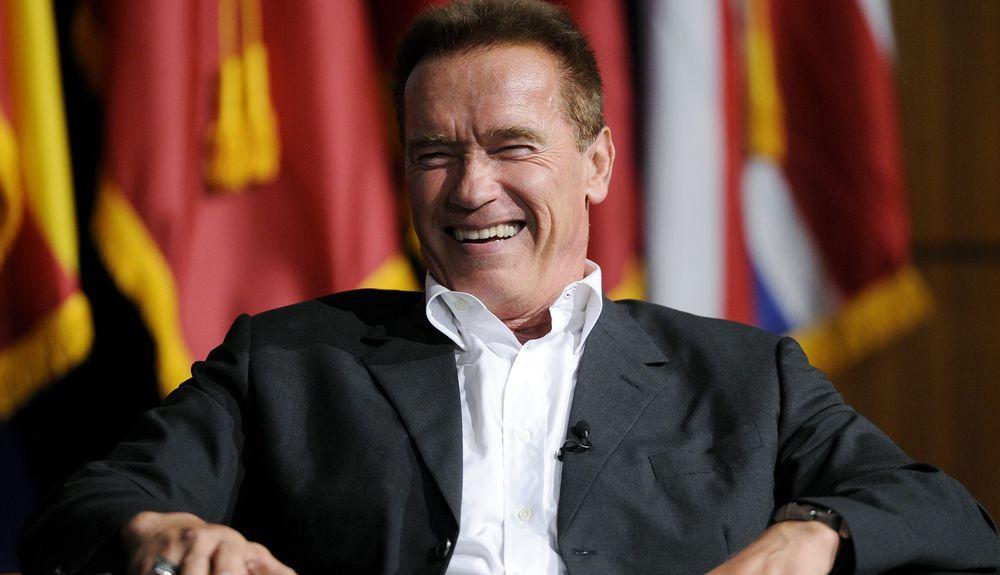 Arnold Schwarzenegger's affair dp