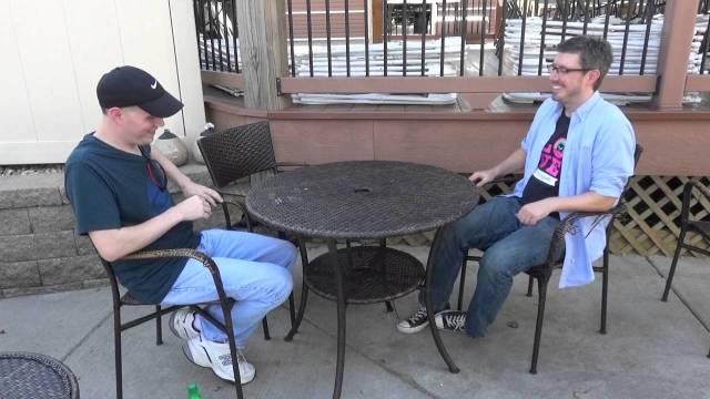 brett ambler during an interview