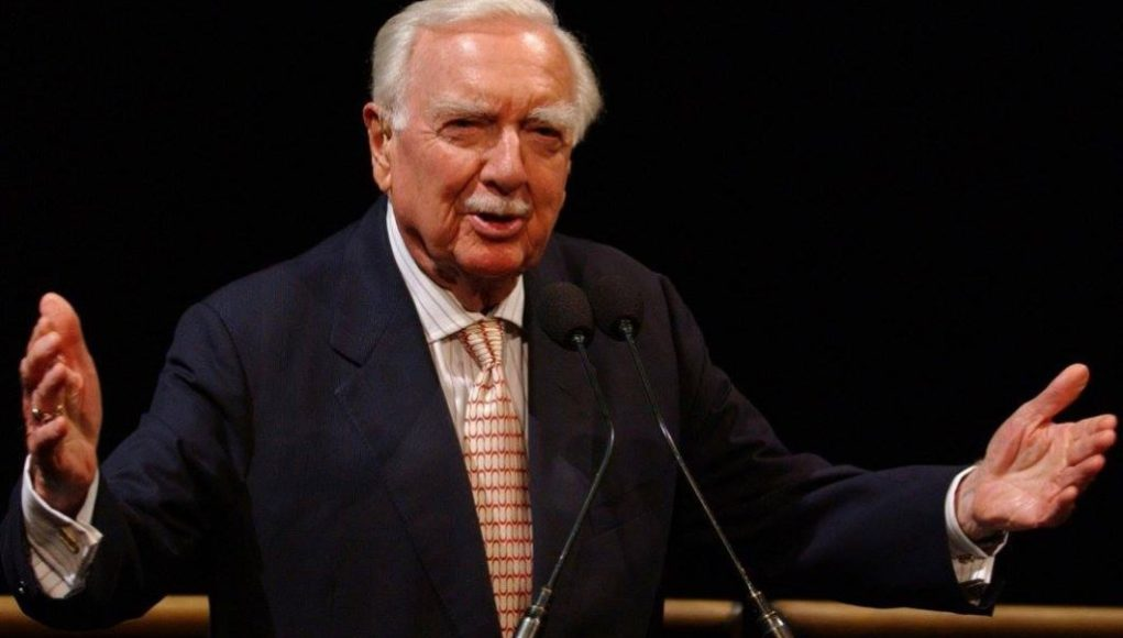 Interesting facts about the U.S Journalist Walter Cronkite