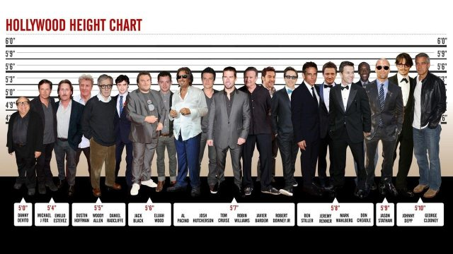 Johnny Depp's height 3