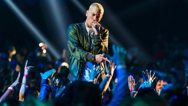 Eminem's height 1