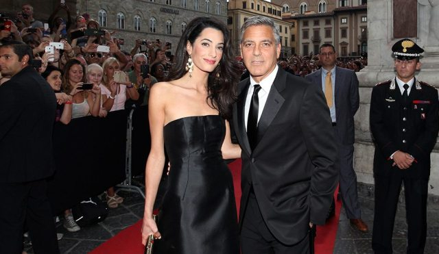 George Clooney's wife 4