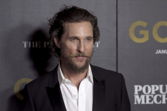 Matthew McConaughey's height
