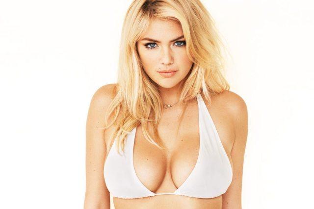 Kate Upton's bra 1