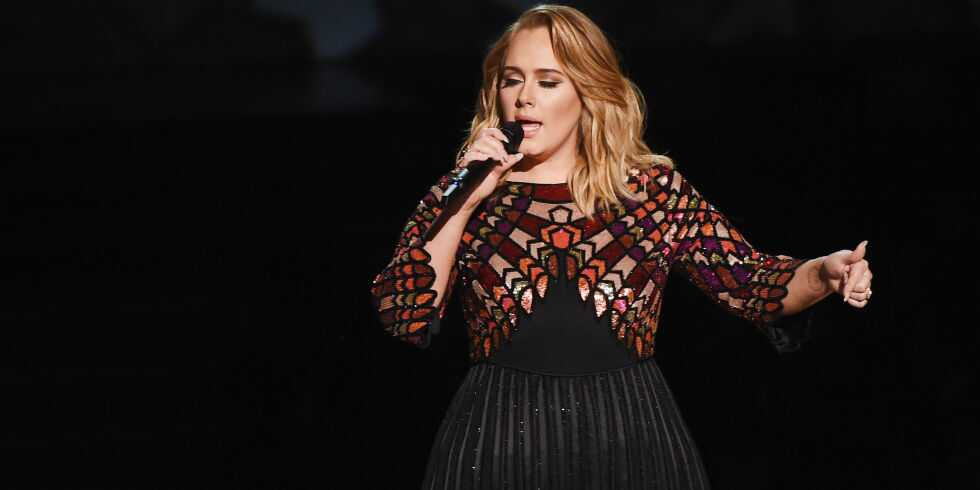 Adele's height 8
