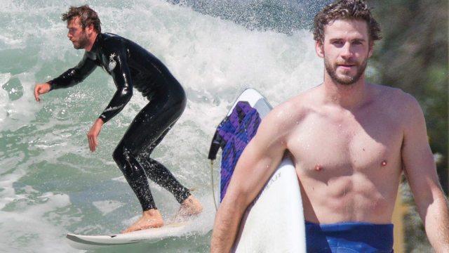 Liam Hemsworth's height 6