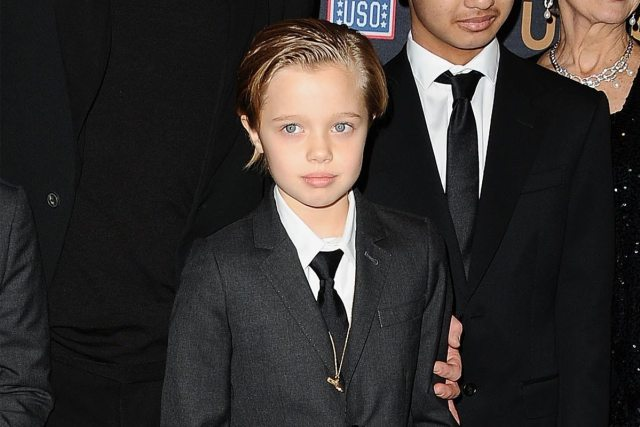 Angelina Jolie's children Shiloh