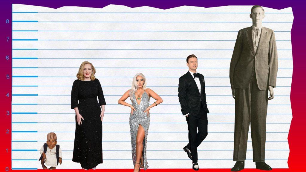 Adele's height 3